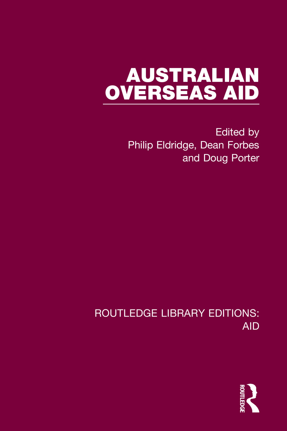 Australian Overseas Aid book cover