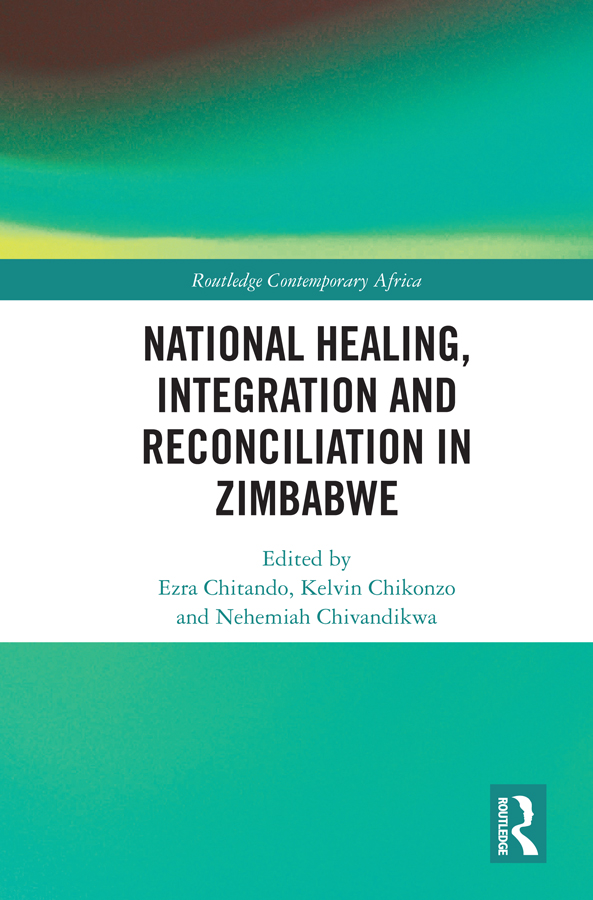 National Healing, Integration and Reconciliation in Zimbabwe book cover