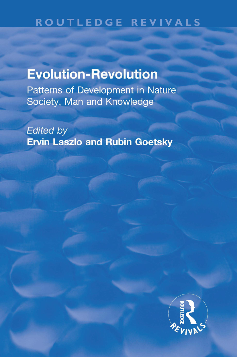 Evolution-Revolution: Patterns of Development in Nature Society, Man and Knowledge book cover
