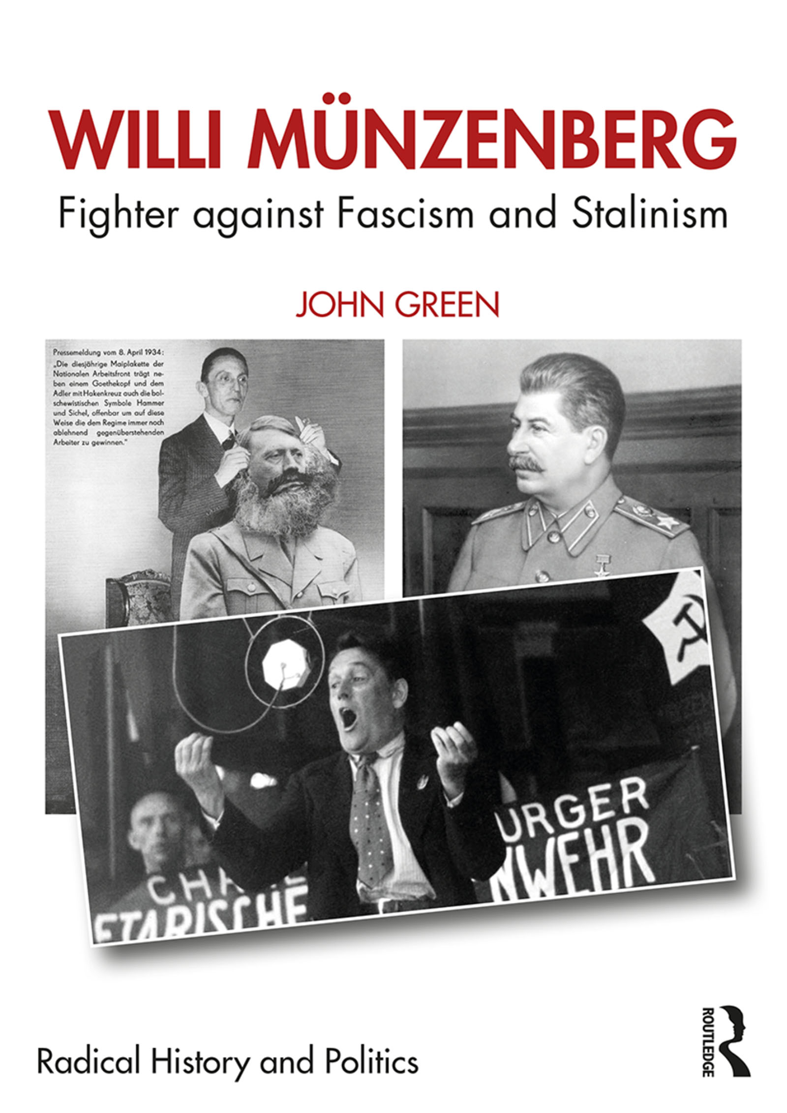 Willi Münzenberg: Fighter against Fascism and Stalinism book cover
