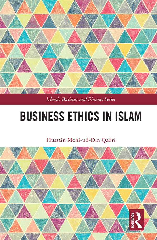 Business Ethics in Islam book cover