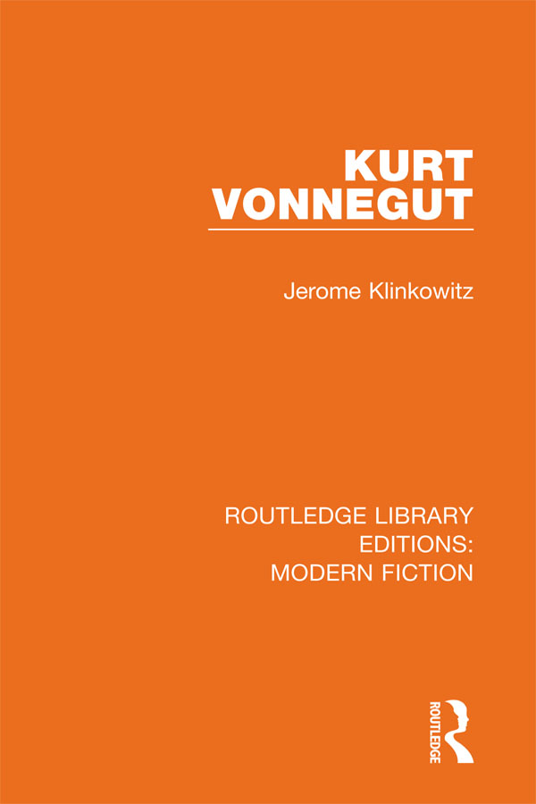 Kurt Vonnegut book cover