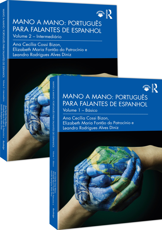 Mano a mano: português para falantes de espanhol: Volume 1 & 2 book cover