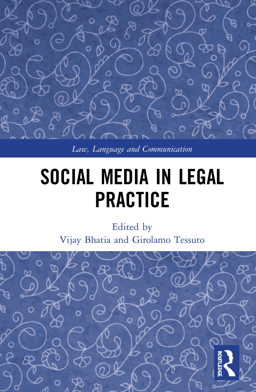 Social Media in Legal Practice book cover