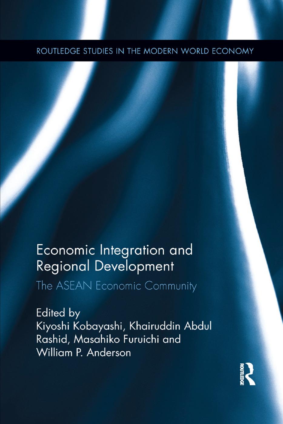 Economic Integration and Regional Development: The ASEAN Economic Community, 1st Edition (Paperback) book cover