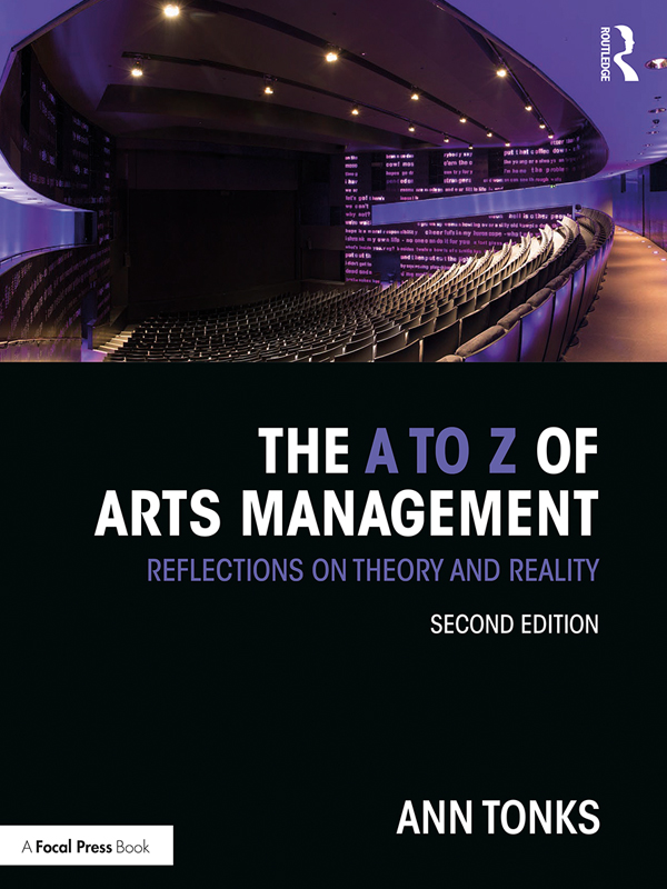 The A to Z of Arts Management: Reflections on Theory and Reality book cover