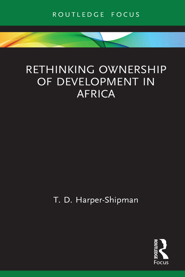 Rethinking Ownership of Development in Africa book cover