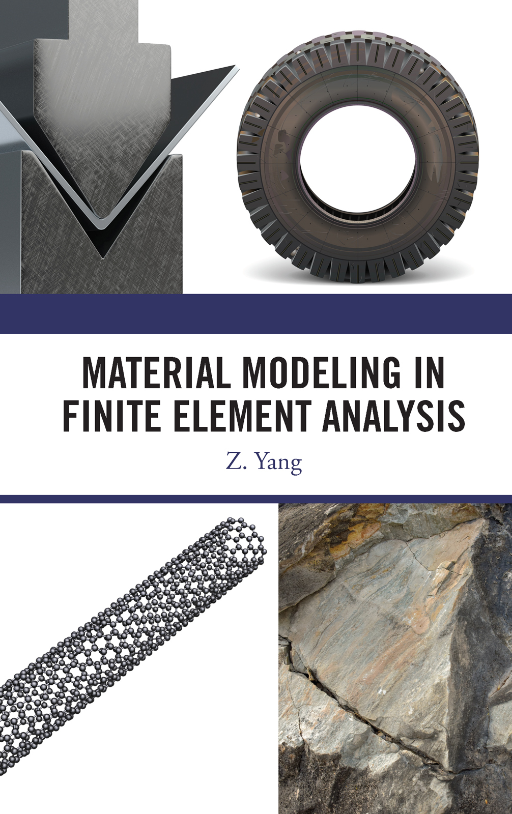 Material Modeling in Finite Element Analysis book cover