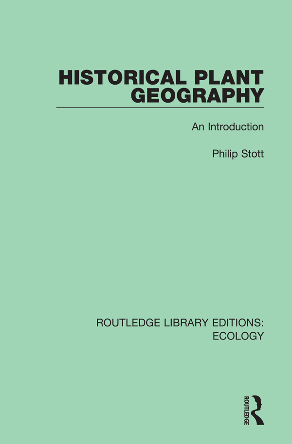 Historical Plant Geography: An Introduction book cover