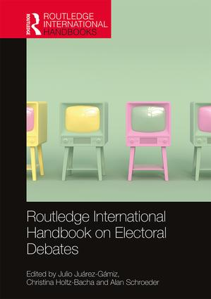 Routledge International Handbook on Electoral Debates book cover