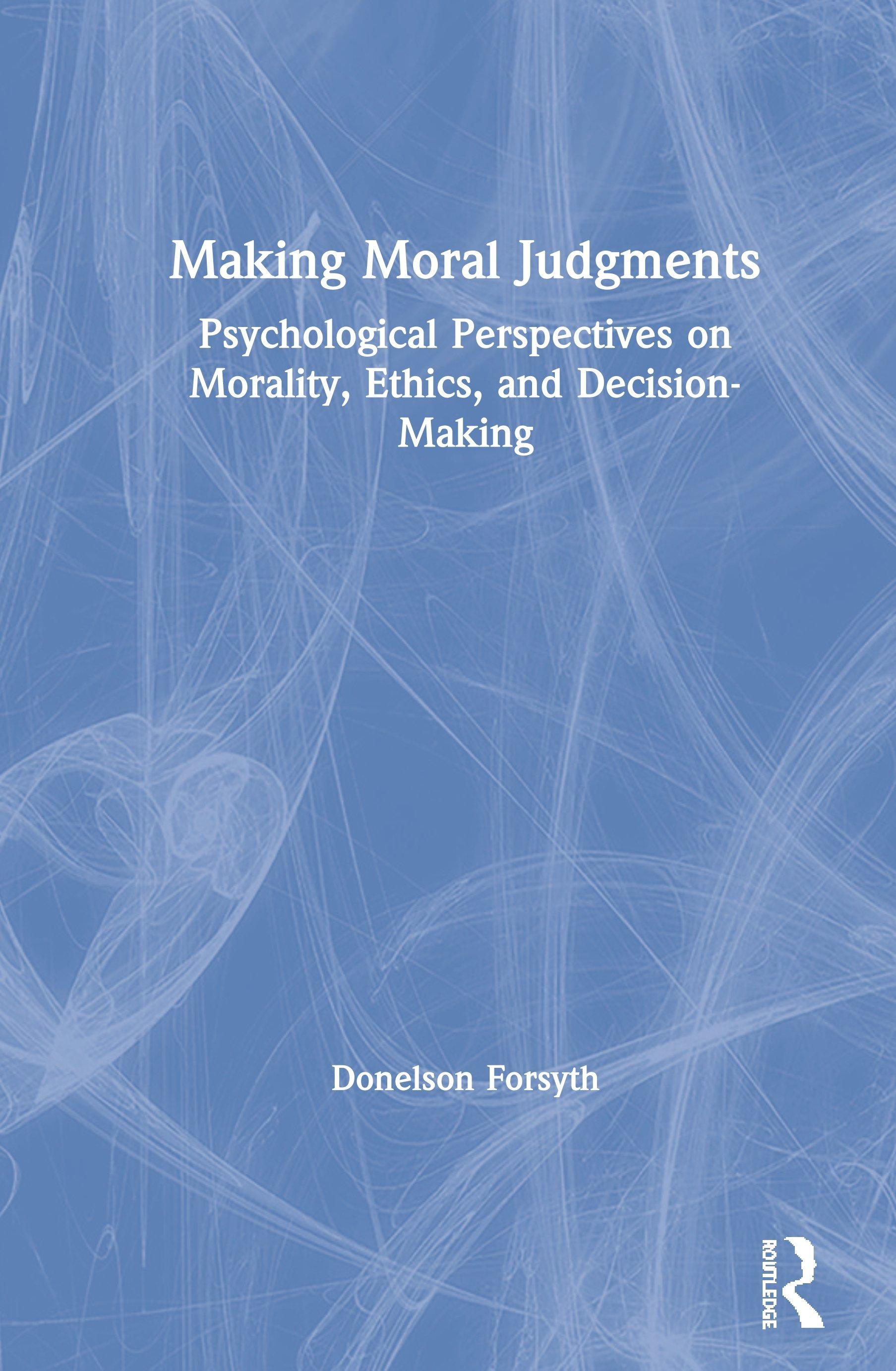 Making Moral Judgments