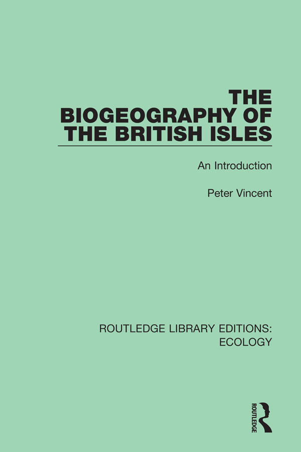 The Biogeography of the British Isles: An Introduction book cover