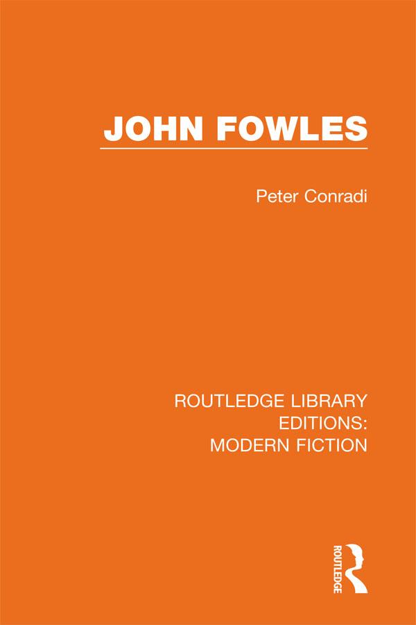 John Fowles: 1st Edition (e-Book) book cover