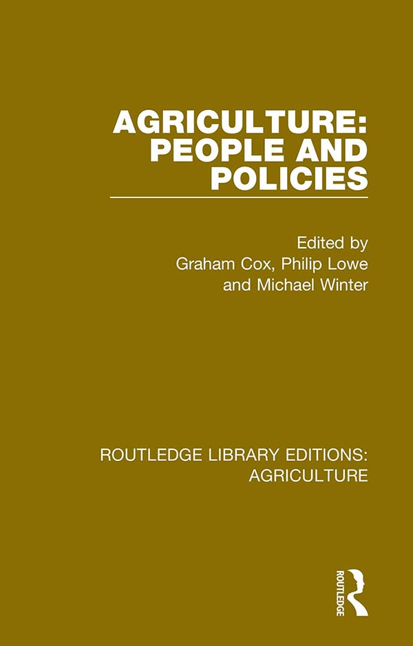 Agriculture: People and Policies