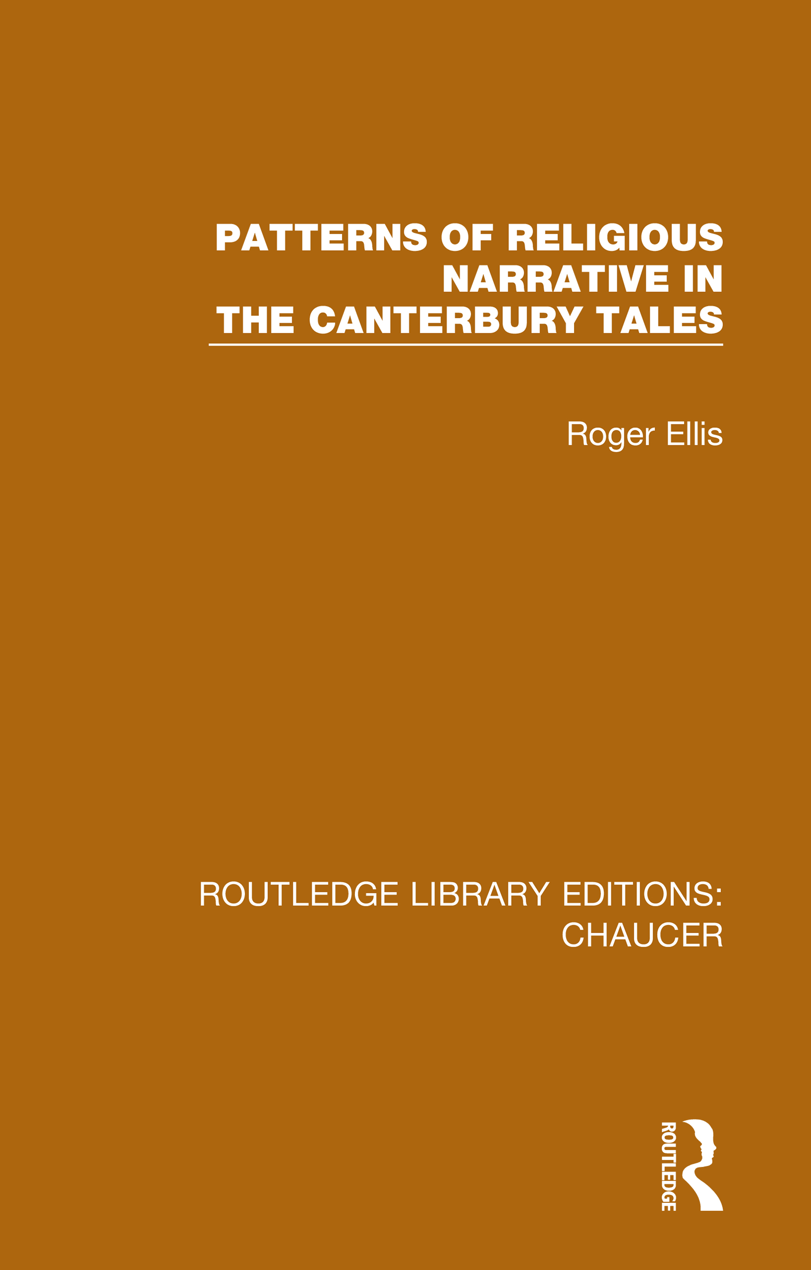 Patterns of Religious Narrative in the Canterbury Tales book cover