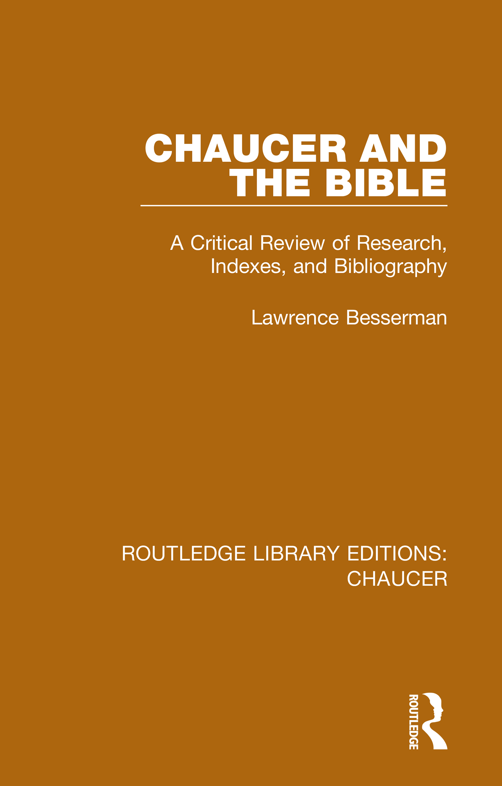 Chaucer and the Bible