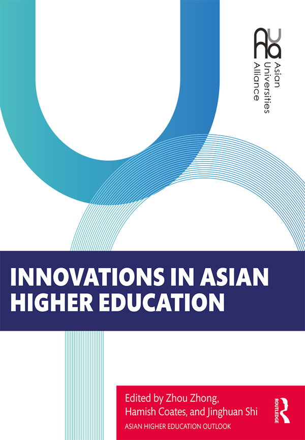 Innovations in Asian Higher Education book cover