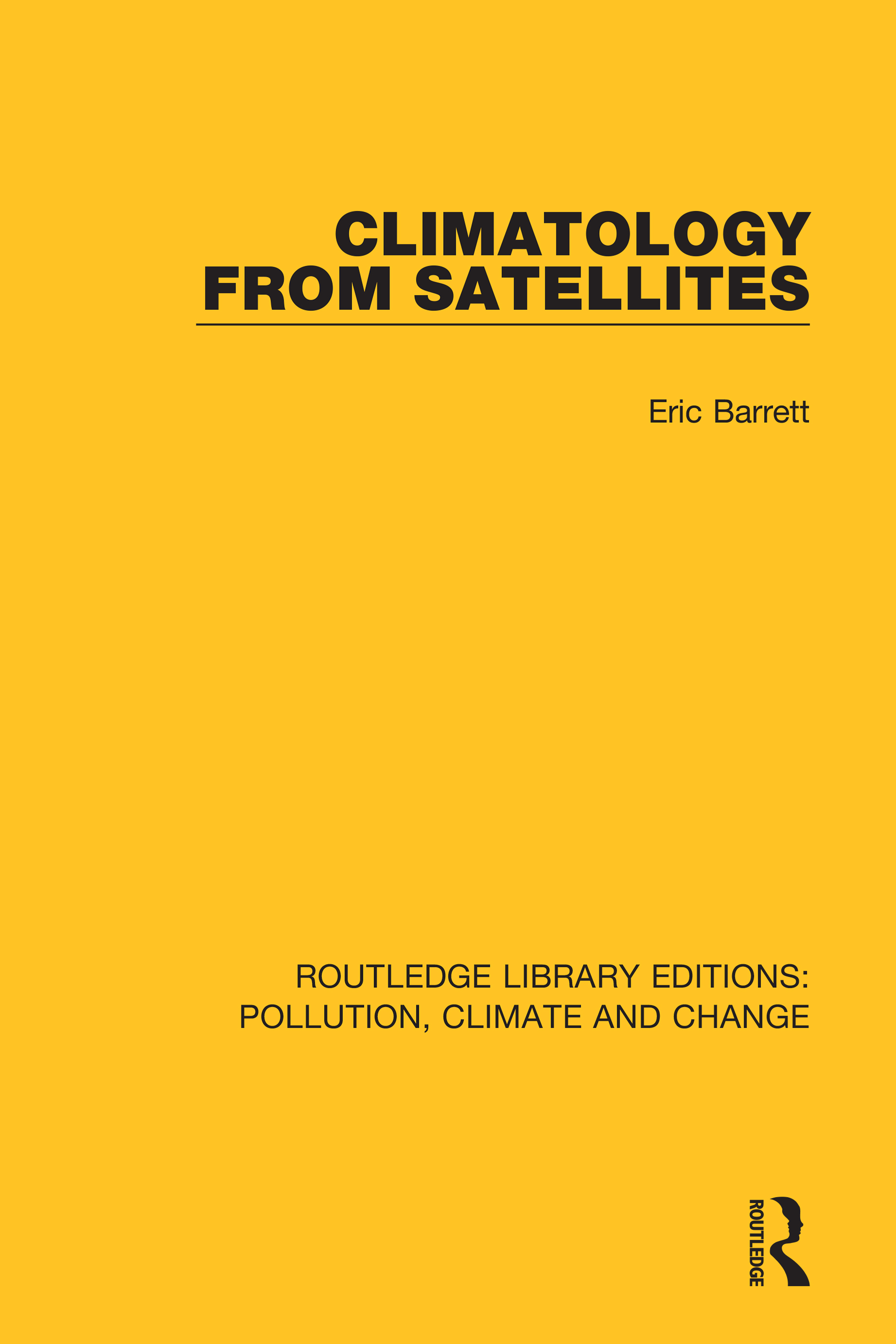 Climatology from Satellites book cover