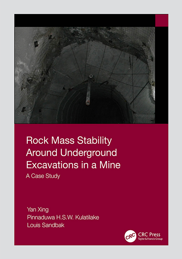 Rock Mass Stability Around Underground Excavations in a Mine: A Case Study book cover