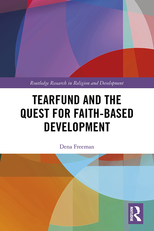 Tearfund and the Quest for Faith-Based Development book cover