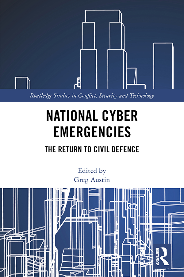 National Cyber Emergencies: The Return to Civil Defence book cover