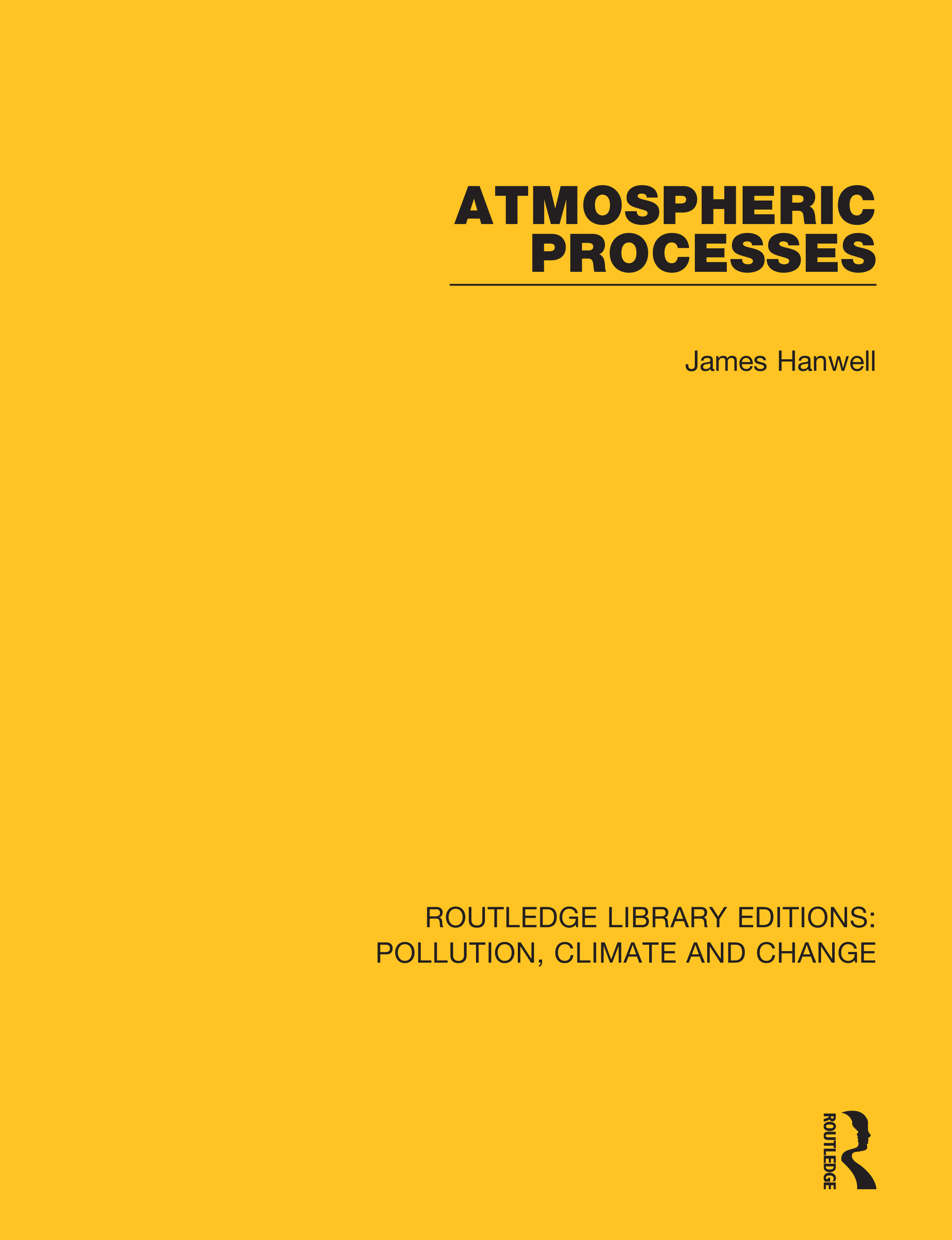 Atmospheric Processes: 1st Edition (Hardback) book cover