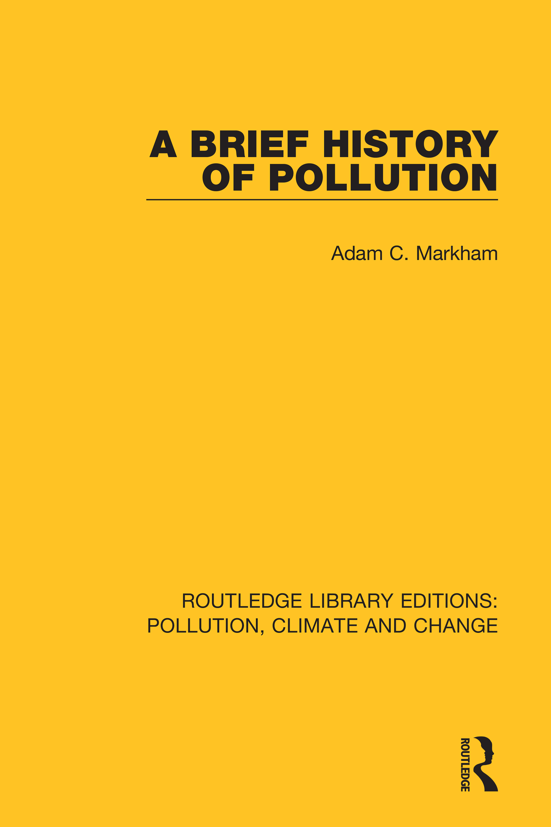 A Brief History of Pollution book cover