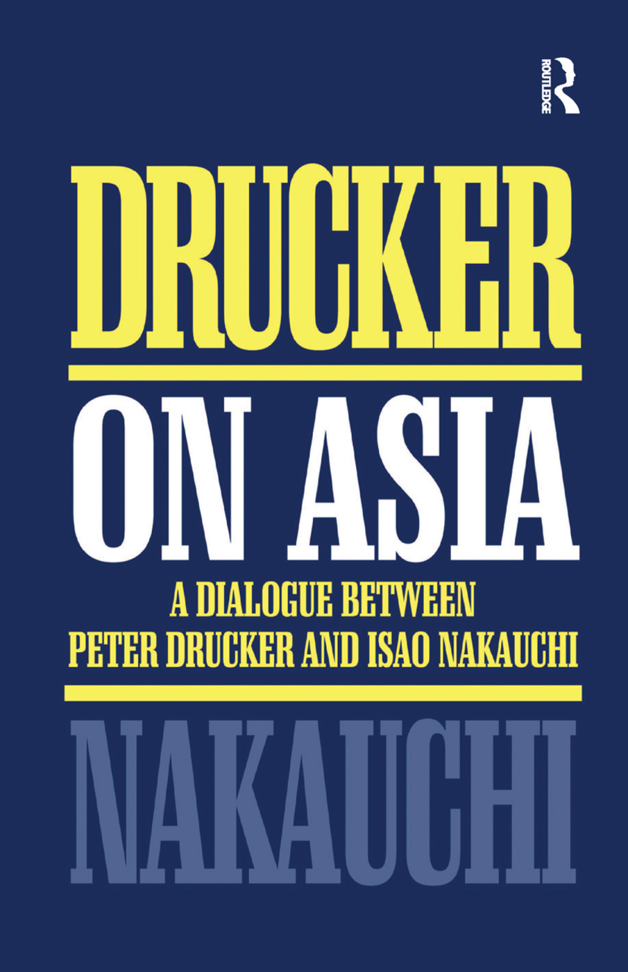 Drucker on Asia: 1st Edition (Paperback) book cover