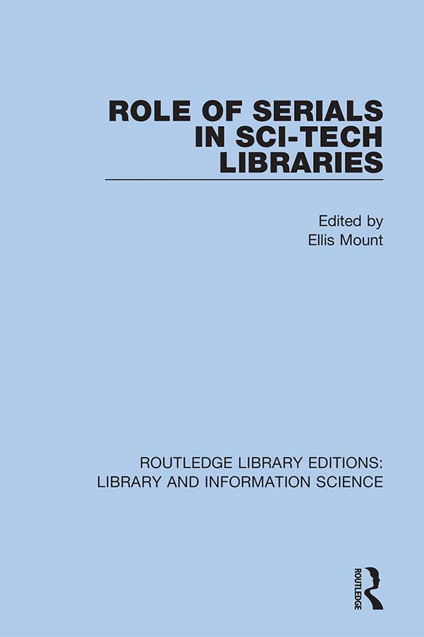 Role of Serials in Sci-Tech Libraries book cover