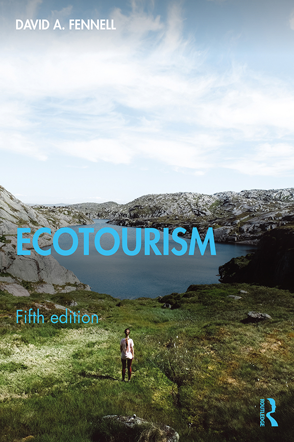 Ecotourism: 5th Edition (Hardback) book cover