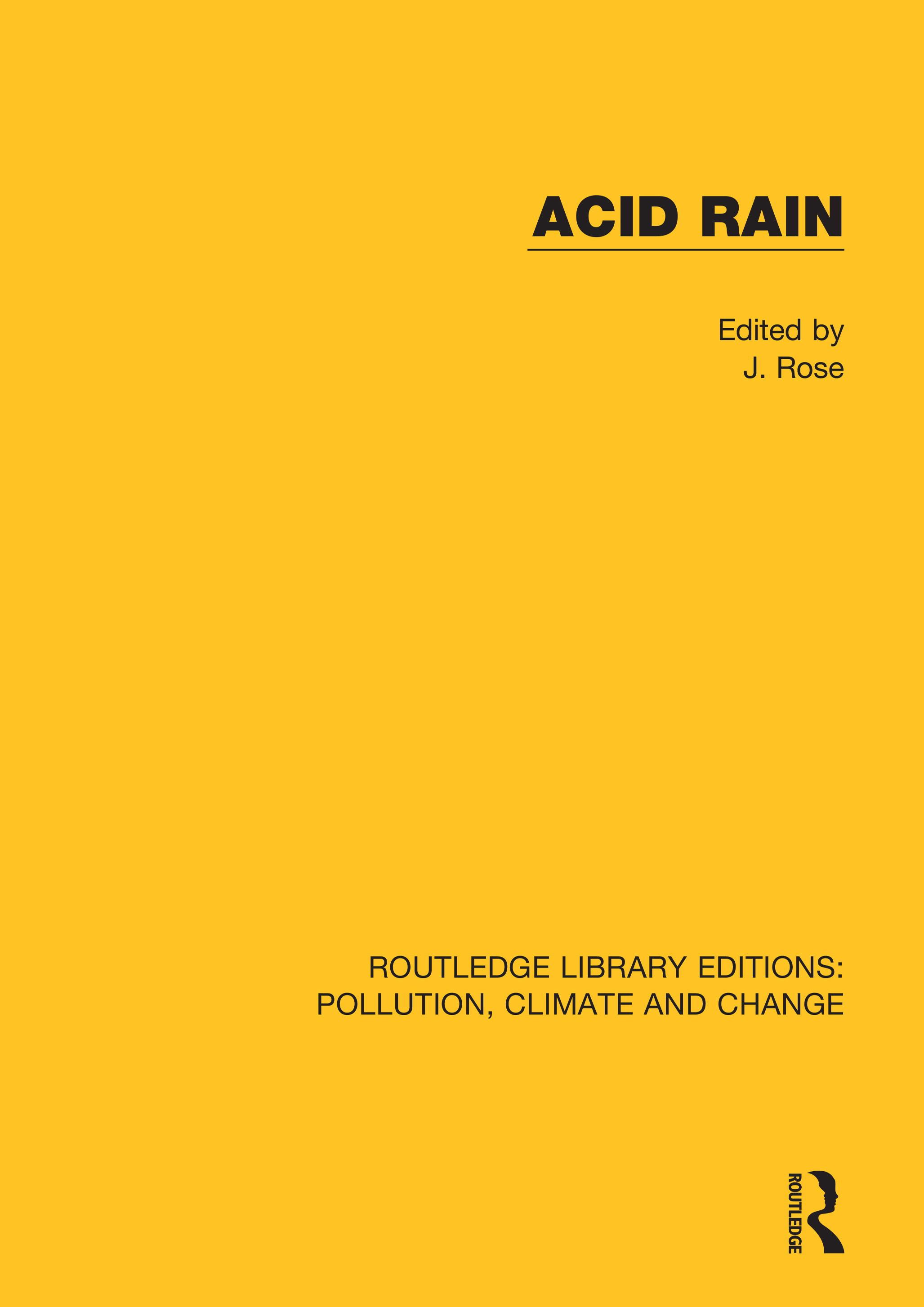 Acid Rain book cover