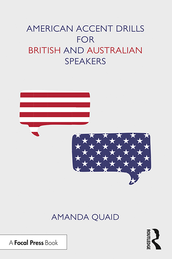 American Accent Drills for British and Australian Speakers