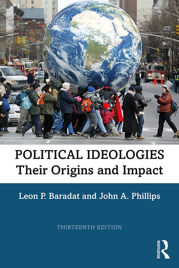 Political Ideologies: Their Origins and Impact, 13th Edition (Hardback) book cover
