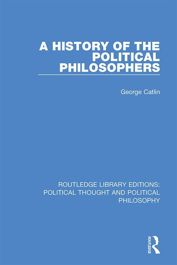 A History of the Political Philosophers book cover