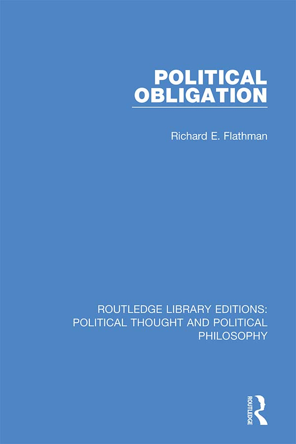 Political Obligation book cover