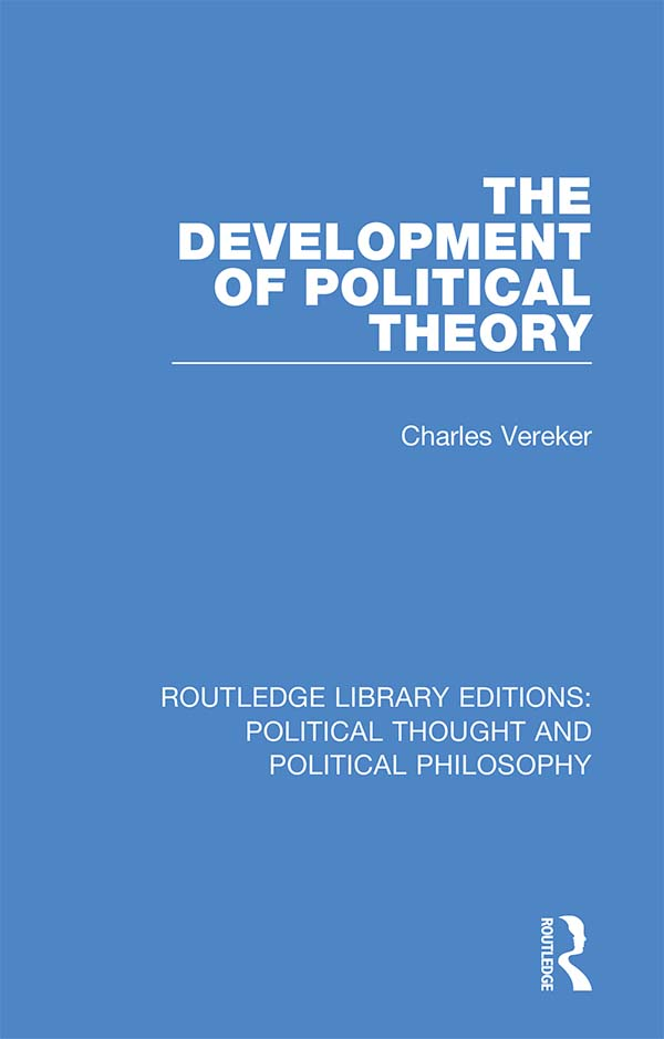 The Development of Political Theory book cover