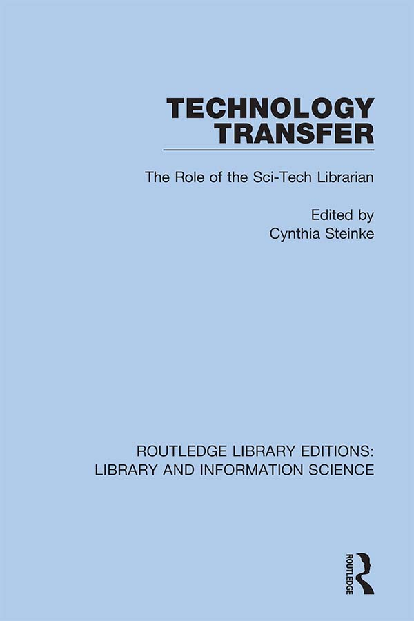 Technology Transfer: The Role of the Sci-Tech Librarian book cover