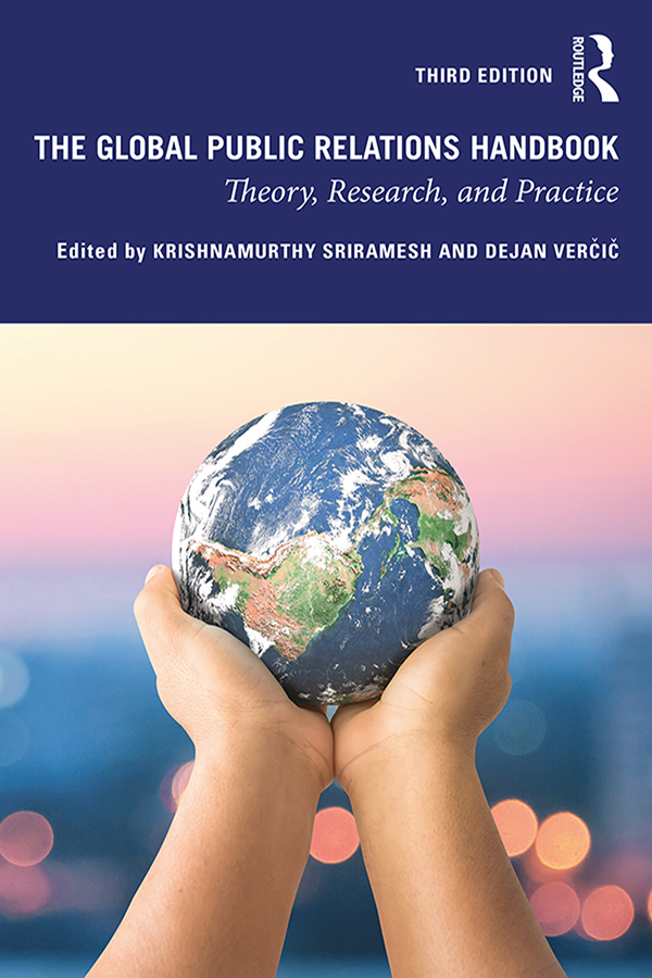The Global Public Relations Handbook: Theory, Research, and Practice book cover