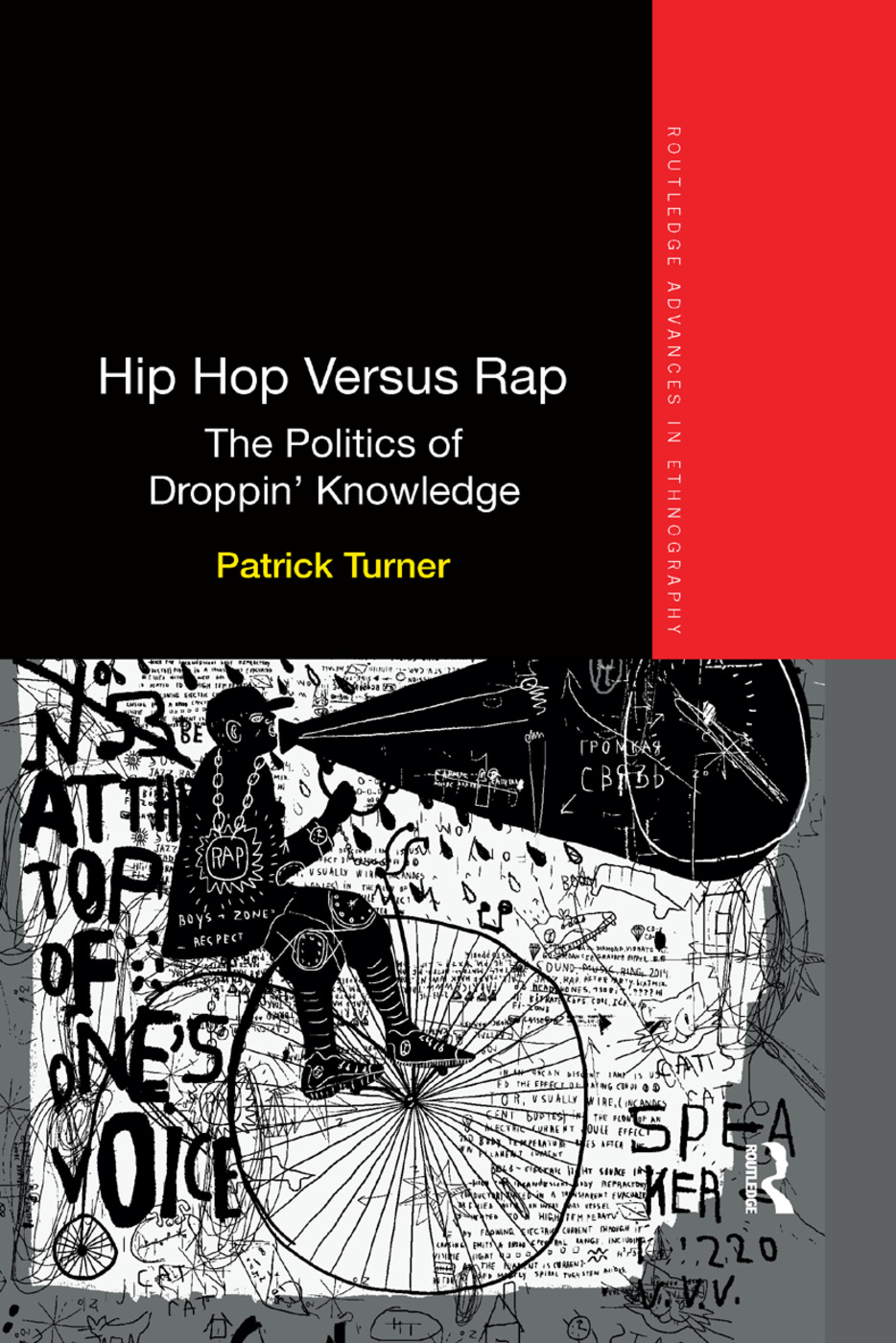 Hip Hop Versus Rap: The Politics of Droppin' Knowledge book cover