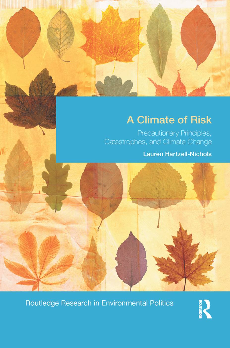 A Climate of Risk: Precautionary Principles, Catastrophes, and Climate Change book cover