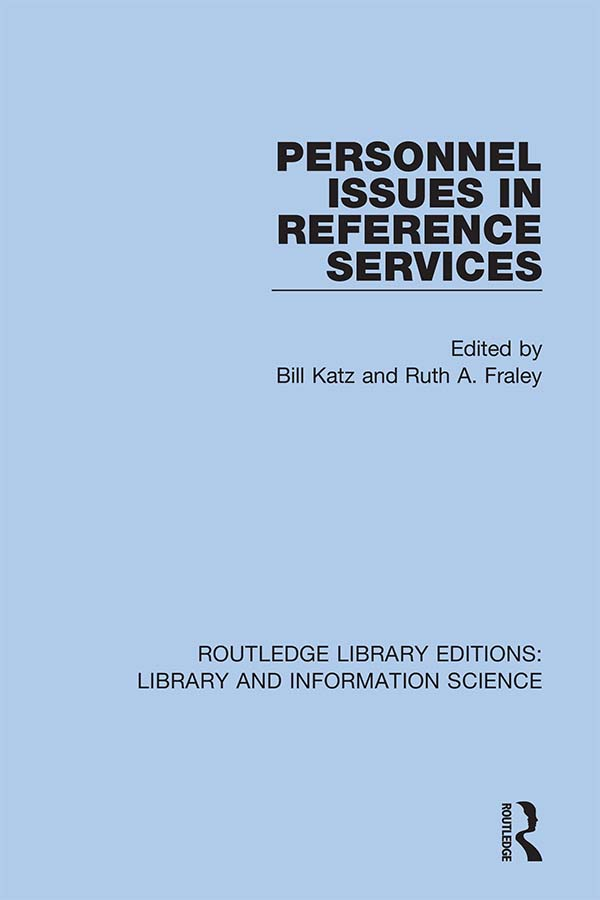 Personnel Issues in Reference Services book cover