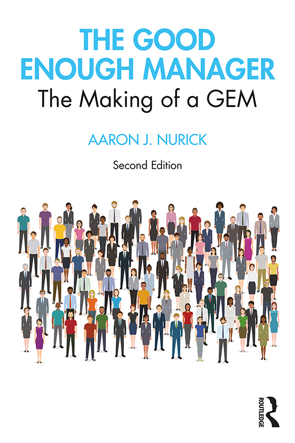 The Good Enough Manager: The Making of a GEM book cover