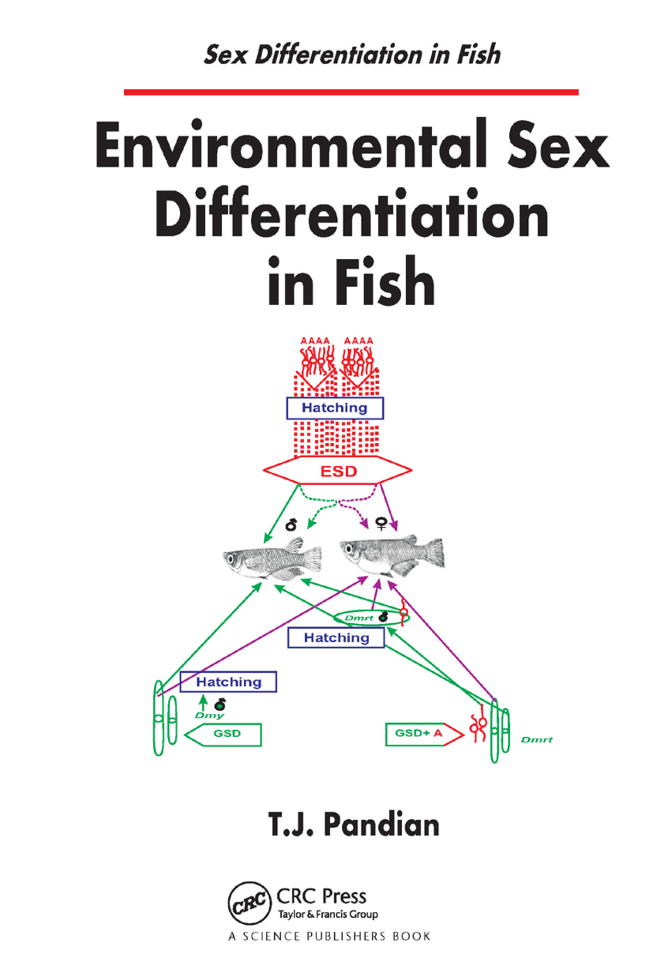 Environmental Sex Differentiation in Fish: 1st Edition (Paperback) book cover