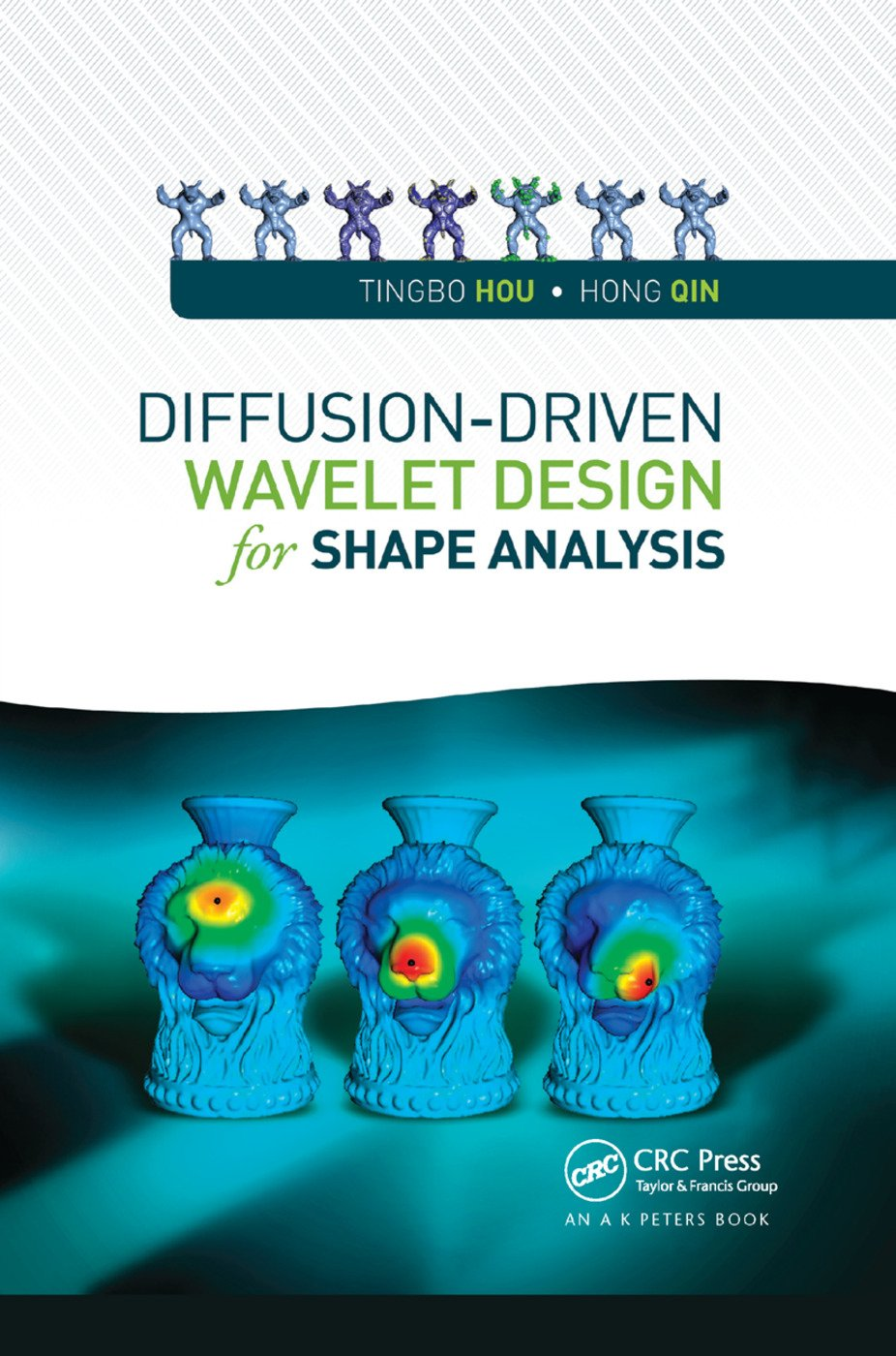 Diffusion-Driven Wavelet Design for Shape Analysis: 1st Edition (Paperback) book cover