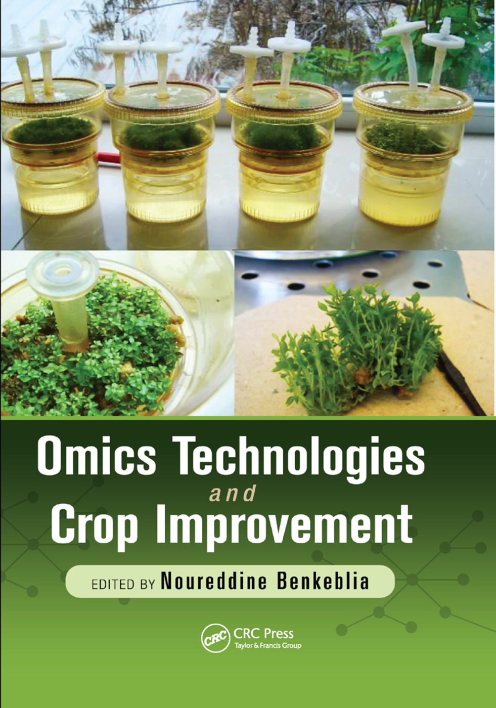 Omics Technologies and Crop Improvement: 1st Edition (Paperback) book cover