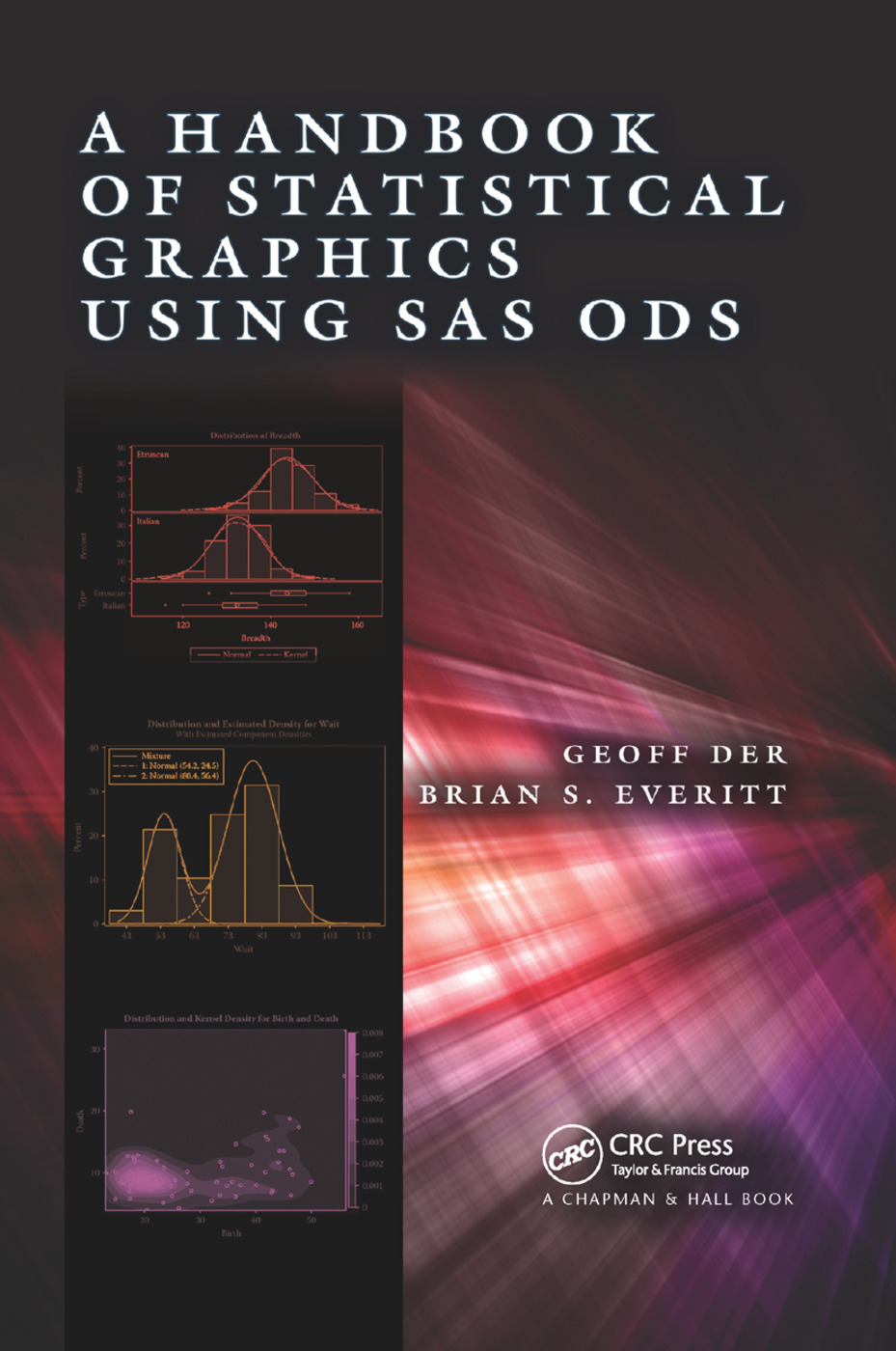 A Handbook of Statistical Graphics Using SAS ODS: 1st Edition (Paperback) book cover