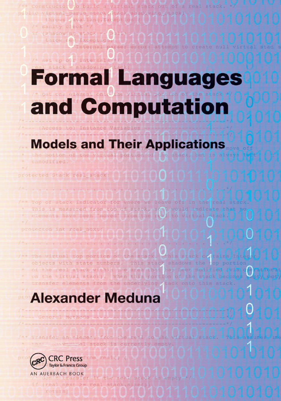 Formal Languages and Computation: Models and Their Applications, 1st Edition (Paperback) book cover