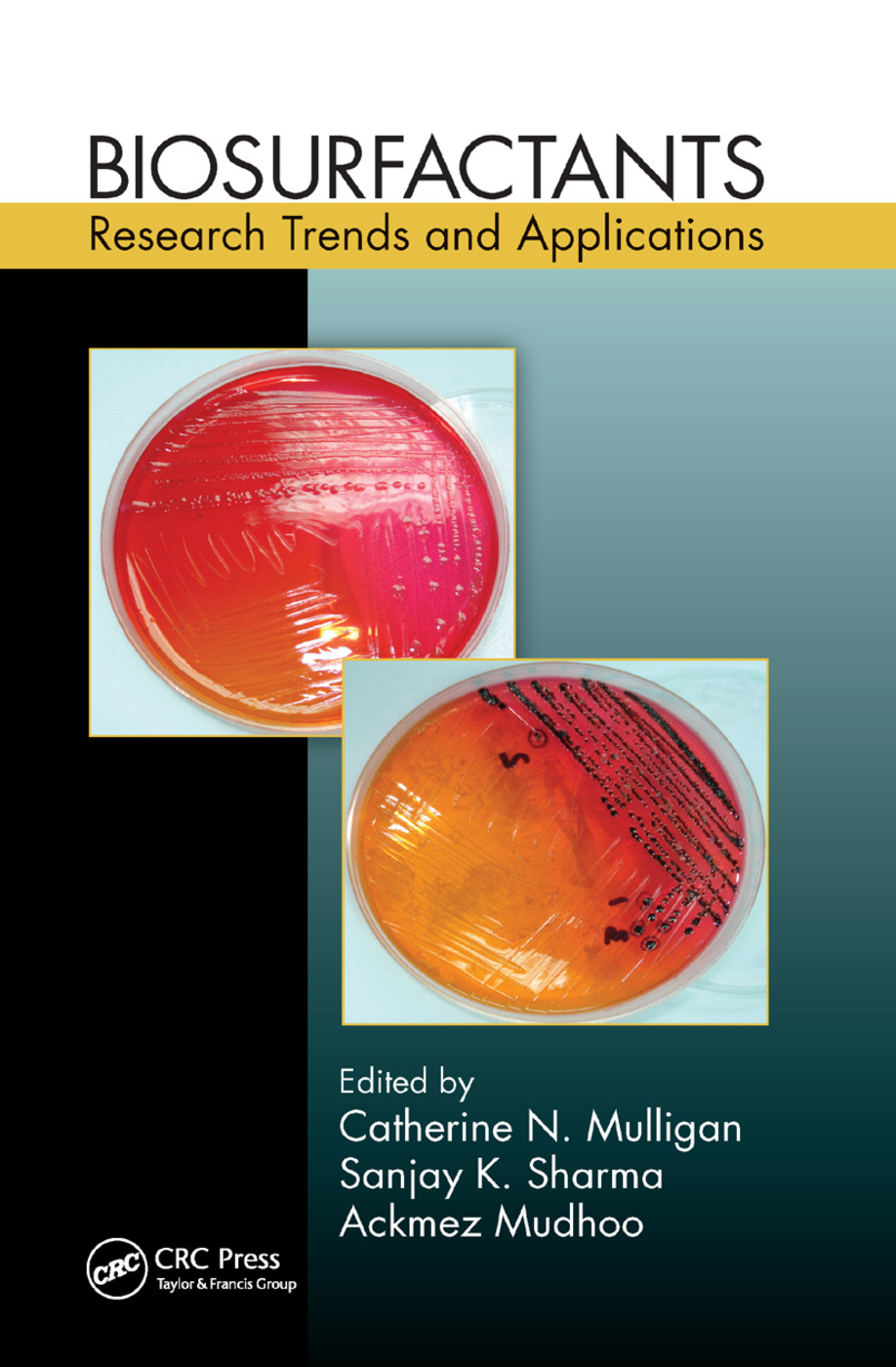Biosurfactants: Research Trends and Applications, 1st Edition (Paperback) book cover