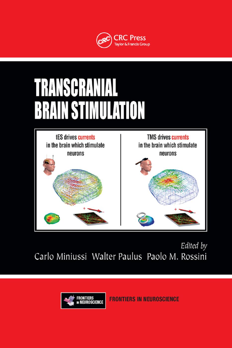 Transcranial Brain Stimulation book cover