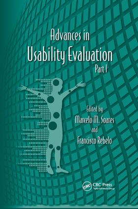 Advances in Usability Evaluation Part I: 1st Edition (Paperback) book cover